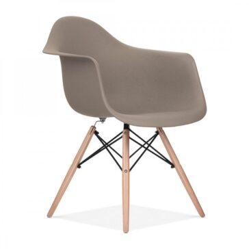 Stolica SRD sivo smeđa, slika 2