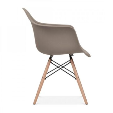 Stolica SRD sivo smeđa, slika 3