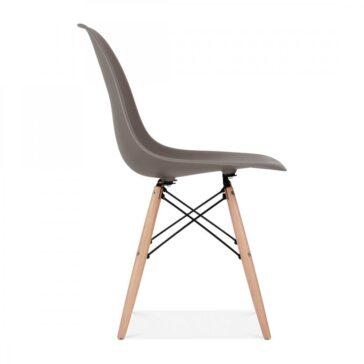 Stolica BRD sivo smeđa, slika 3