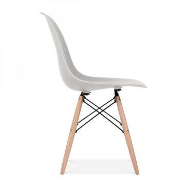 Stolica BRD Svijetlo Siva, slika 3