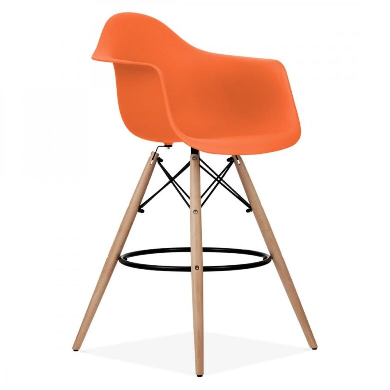 Stolica SRD barska narančasta, slika 02