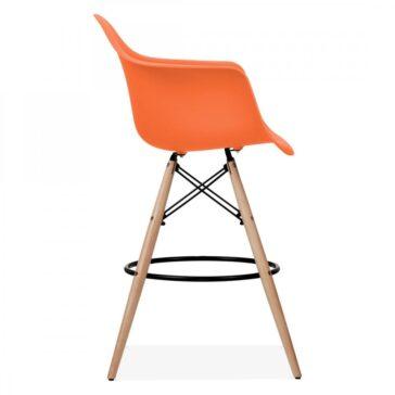 Stolica SRD barska narančasta, slika 03