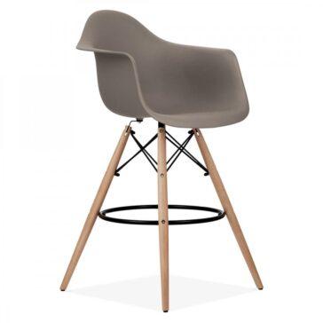 Stolica SRD barska sivo smeđa 2
