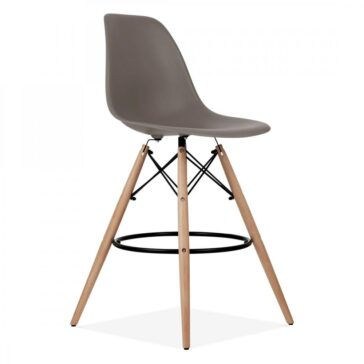 Stolica BRD barska sivo smeđa, slika 2
