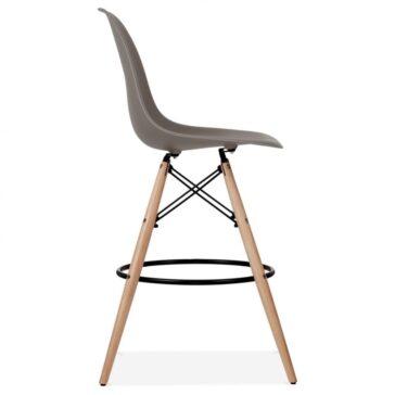 Stolica BRD barska sivo smeđa, slika 3