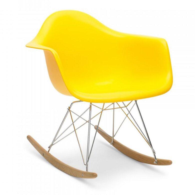 Stolica za ljuljanje SRL žuta, slika 02
