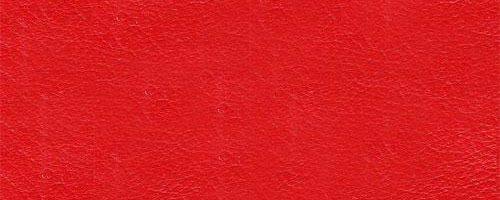 inside studio, Boje dizajnerskog namještaja, Anilin koža crvene boje