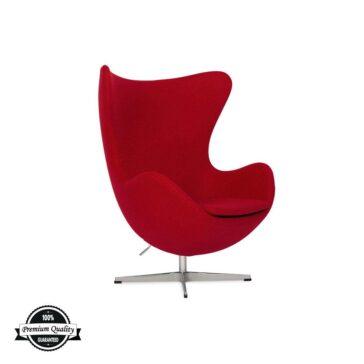 BULB fotelja crvene boje
