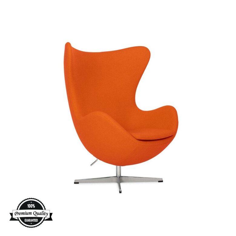 BULB fotelja narančaste boje