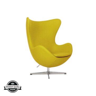 BULB fotelja oker žute boje