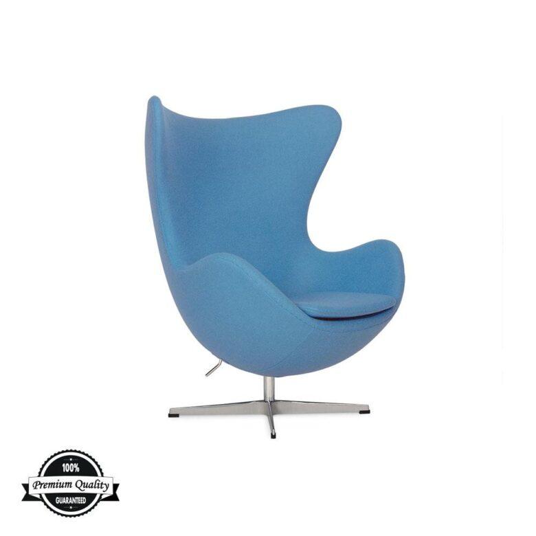 BULB fotelja plave boje