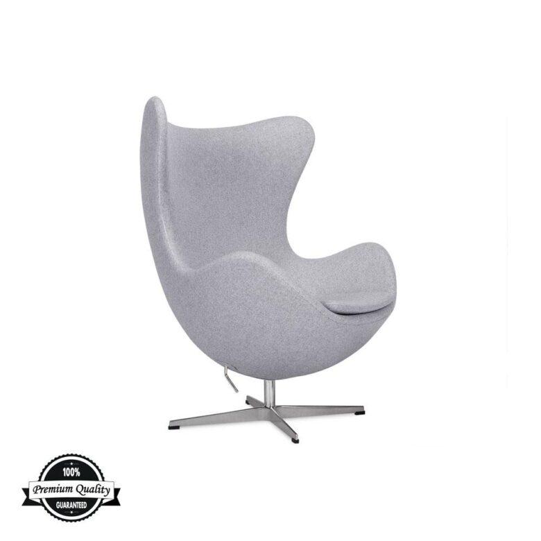 BULB fotelja svijetlo sive boje